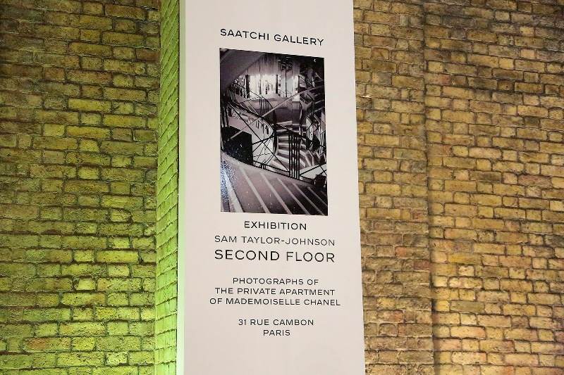 Second Floor - Sam Taylor-Johnson's photographic exhibition - Saatchi Gallery - London - 001