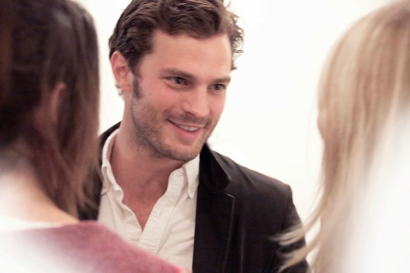 Second Floor - Sam Taylor-Johnson's photographic exhibition - private view - Jamie Dornan