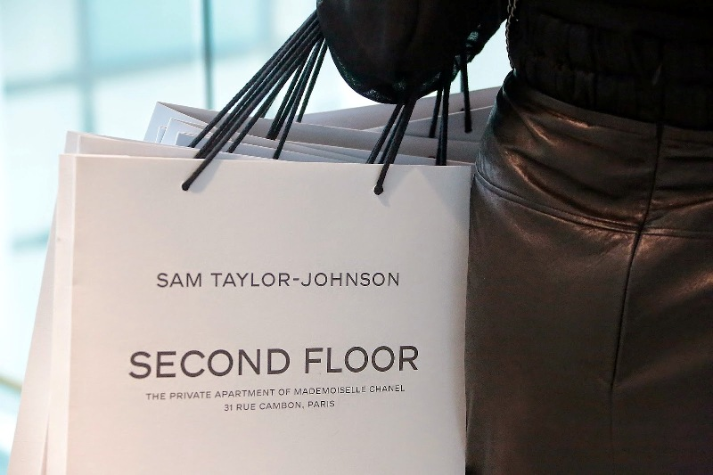 Second Floor - Sam Taylor-Johnson's photographic exhibition- private view