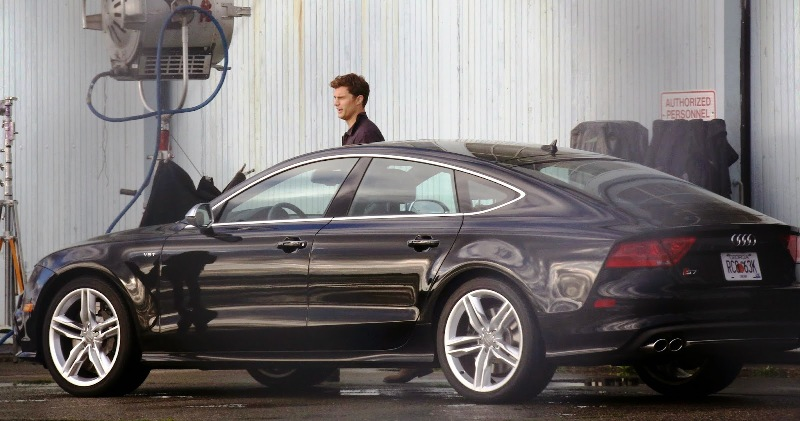 AUDI PARTNERS WITH UNIVERSAL FOR FSOG MOVIES SHADES GIRL PORTLAND - Audi car in 50 shades of grey