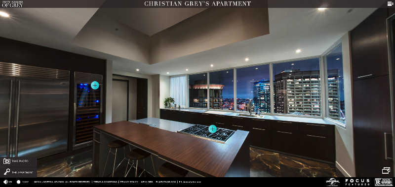 Fsog Movie Inside Christians Escala Penthouse Apartment