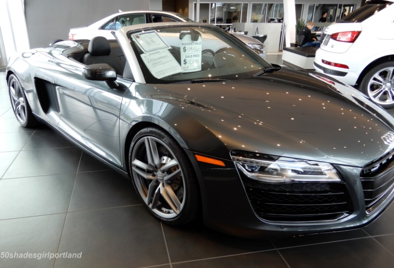 The Audis Of Christian Grey In Fifty Shades Of Grey Movie - Audi car used