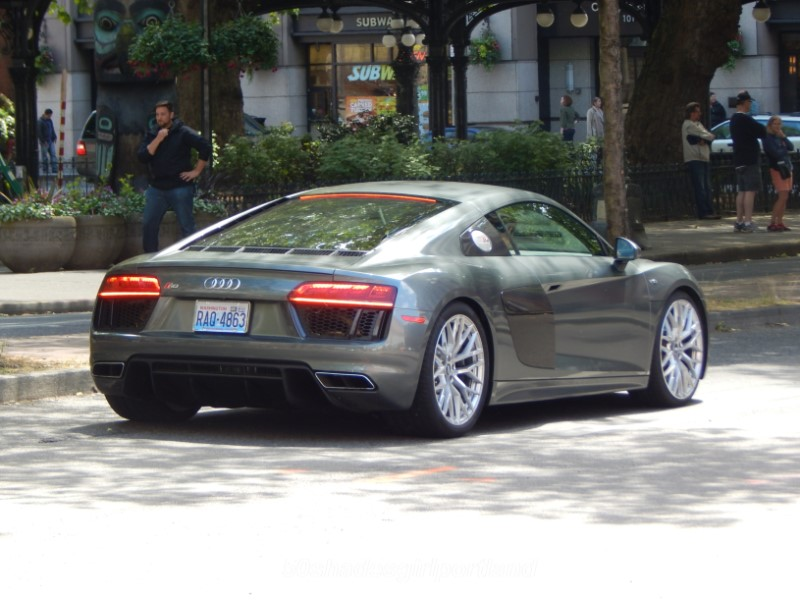 CHRISTIAN GREYS AUDI R IN FIFTY SHADES MOVIES SHADES GIRL - Audi car in 50 shades of grey