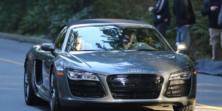 FIFTY SHADES MOVIES CHRISTIAN GREYS AUDI R SHADES GIRL PORTLAND - Audi car in 50 shades of grey