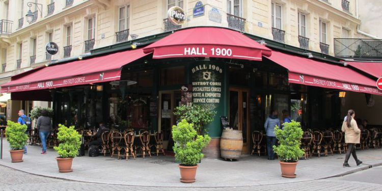 Fifty Shades Freed Paris Location Bristrot Corse Restaurant