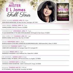 The Mister E L James Full Tour